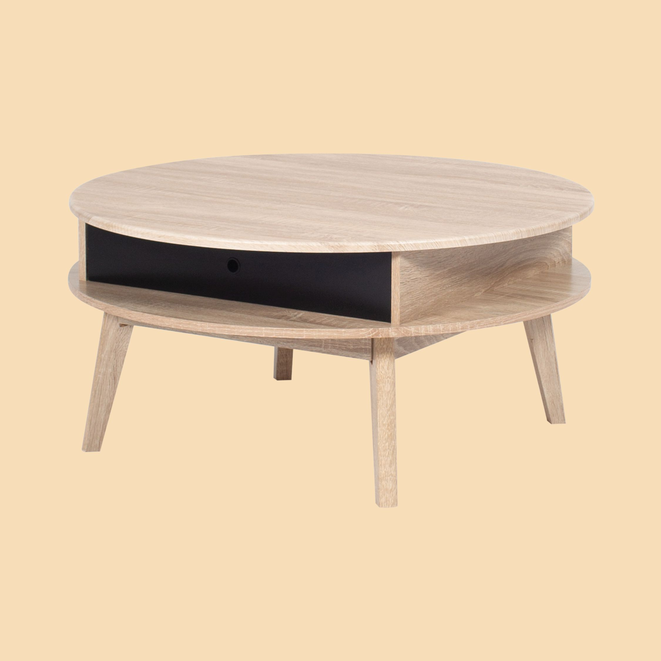 Coco Scandi Coffee Table Coffee Table Wooden Coffee Table Round Wooden Coffee Table [ 2250 x 2250 Pixel ]