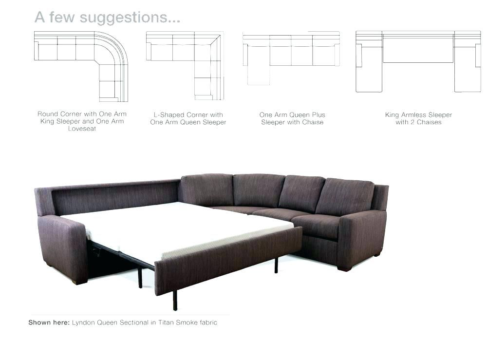 Sleeper Sectional Sofa With Chaise