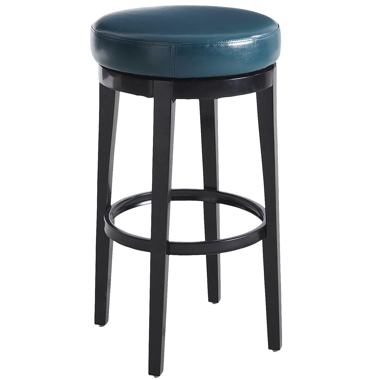 stratmoor teal swivel bar stool  bar stools red bar
