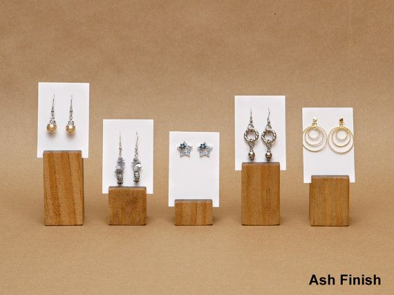 Earring Card Holder Display By Usaveco