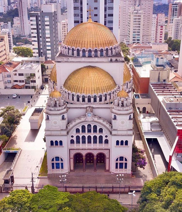 São Paulo City Miguel Garcia No Instagram Catedral Metropolitana Ortodoxa By Dronilo Saopaulocity Euvivosp Catedral Catedral Ortodoxa Metropolitano