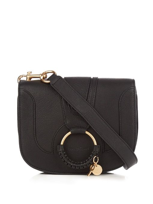 426cb64533d1 SEE BY CHLOÉ Hana small leather cross-body bag.  seebychloé  bags  leather   lining  travel bags  weekend  cotton