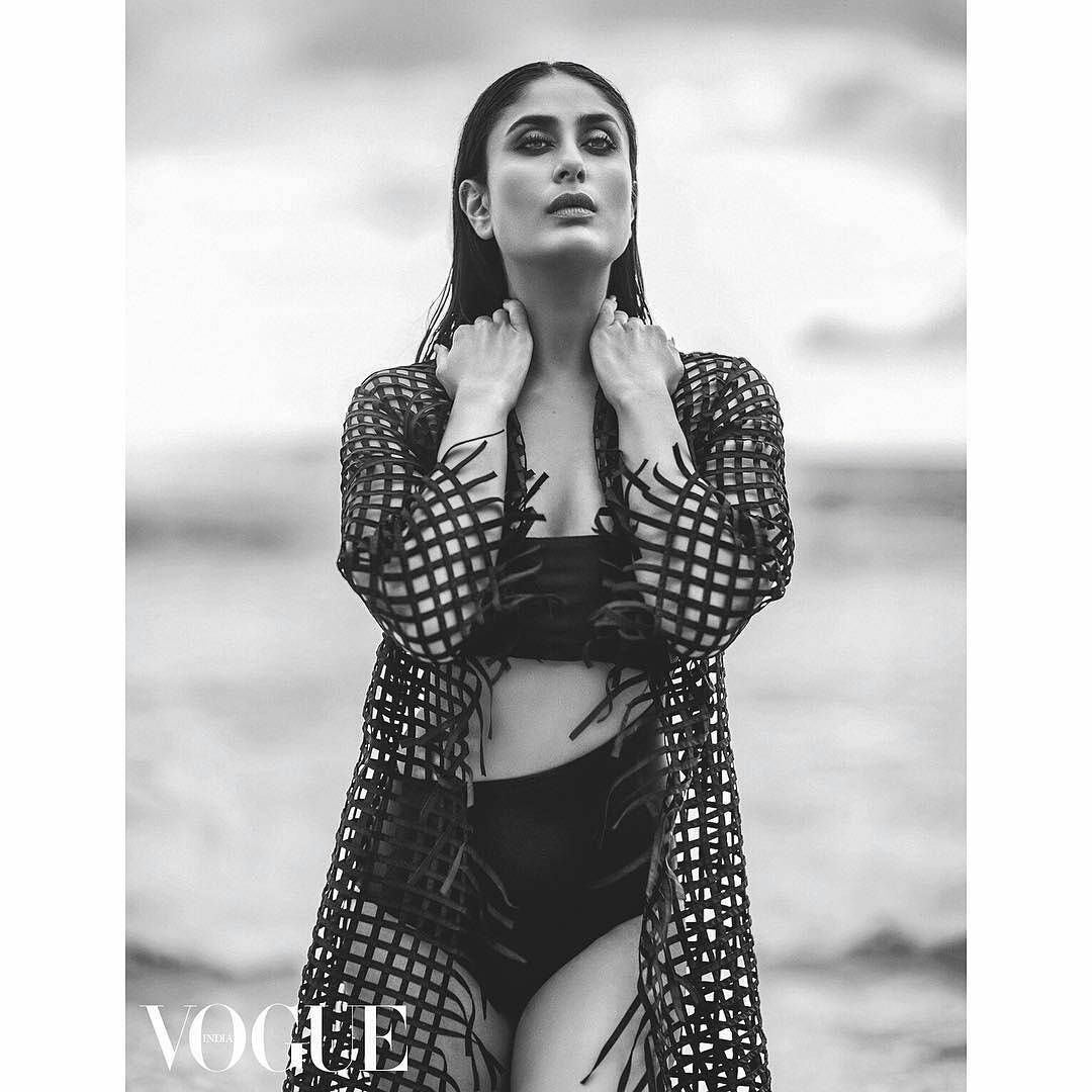 Hot Kareena Kapoor Khan Photoshoot For Vogue India Kareena Kapoor Bikini Bollywood Fashion Vogue India