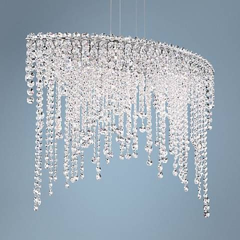 Schonbek chantant 33 wide large crystal pendant light crystal schonbek chantant 33 wide large crystal pendant light mozeypictures
