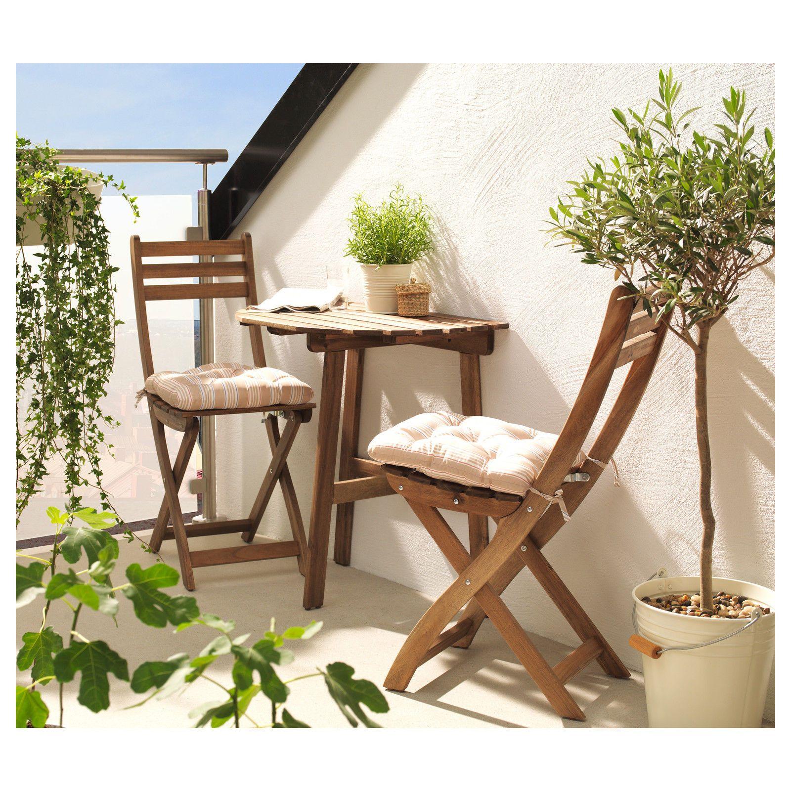 Ikea Askholmen Garden Patio Outdoor Balcony Table 502.586.67 NEW | EBay