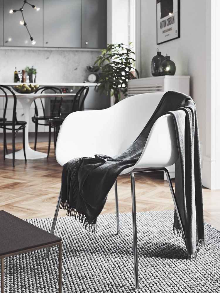 3 Apartments mit einem eleganten Design, wo das Dekor im ...