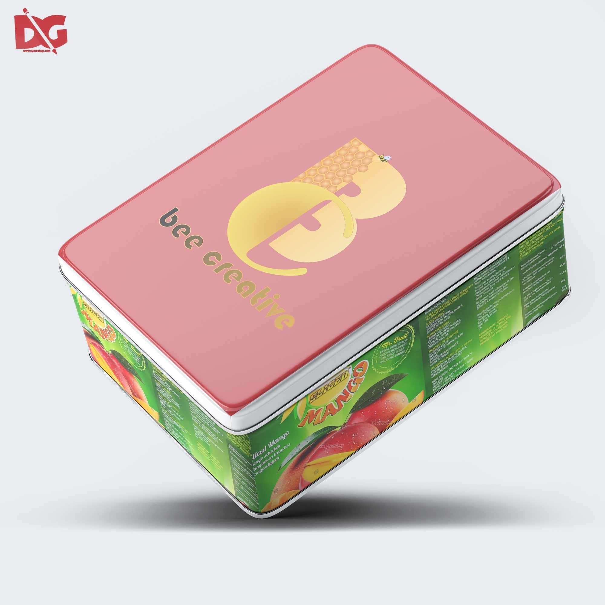Download Tilt Rectangular Box Packaging Mockup Free Logo Mockup Logo Design Mockup Free Logo Psd