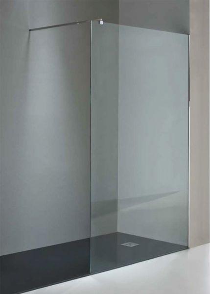 Precios de fijo de ducha de acero inoxidable y cristal for Precio mampara ducha