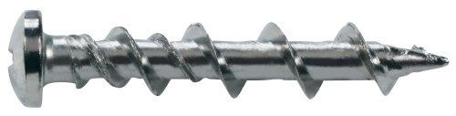 The Hillman Group 385388 3 16 Inch By 1 1 4 Inch Walldog Pan Head Phillip Screw Chrome By The Hillman Stainless Steel Screws Screws Picture Framing Materials