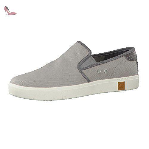 Timberland Casco Bay_Casco Bay Slip On with Ju, Damen Sneakers, Braun (Light Tan Suede), 41.5 EU