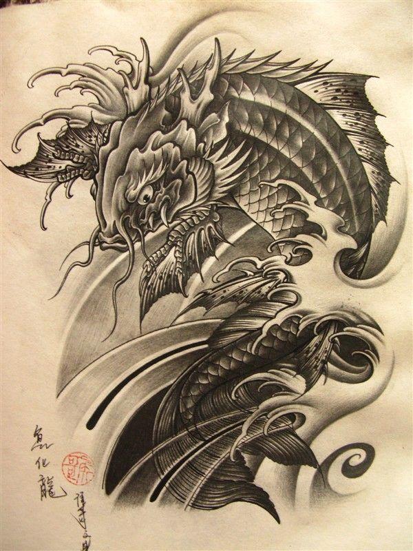 Image result for tattoo cá chép | tattoo flash | Hình xăm