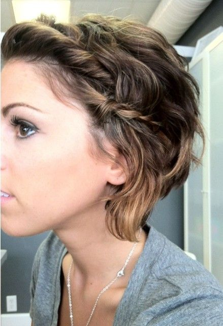 Messy Hairstyles with Braid - PoPular Haircuts