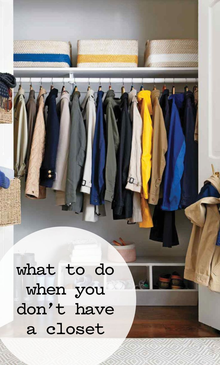 Living In Tiny Es What To Do When You Don T Have A Closet