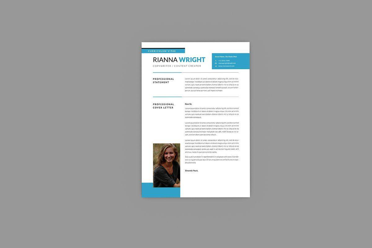 Riannna Copywriter Resume Designer Resume Creative Resume Templates Copywriting