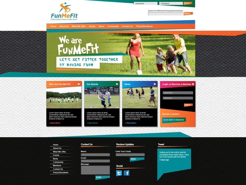 We created a mini-social network for our client FunMeFit from scratch. We worked closely with Kate to develop a site for the community where people could interact and get involved in sport, fitness, community work and more. Now we have helped develop the site even more and are a key supporter of this fast-growing project.