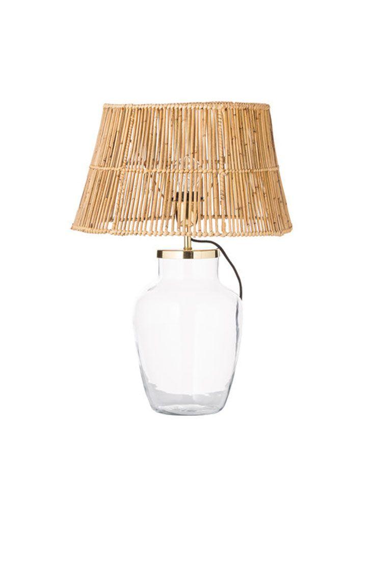 Tischleuchte Palm Lampendesign Tischleuchte Und Rattan Sessel