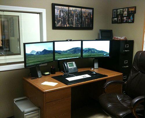 50 Amazing Home Office Workstation Setups Bedroom Setup Office
