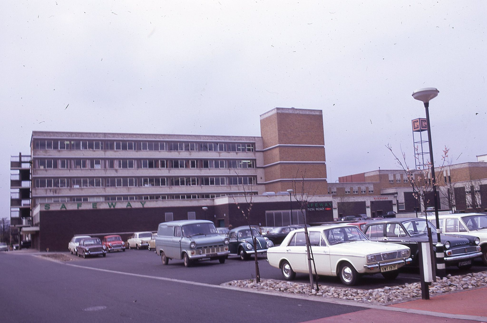 Crossgates Shopping Centre Leeds May 1969 Arndale Development