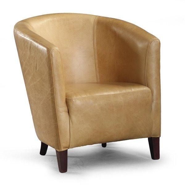 Leather Tub Chair | Leather club chairs, Tub chair and Tubs