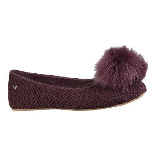 7792a5d6877 Andi Pom Pom Ballet Slipper in 2019 | Products | Slippers, Uggs ...