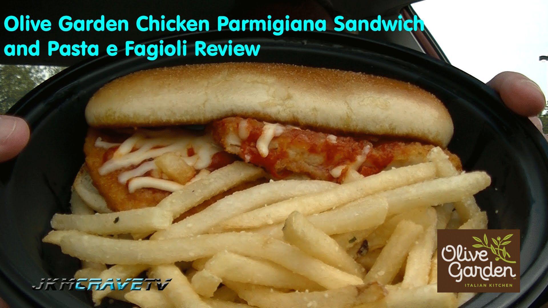 Olive Garden Chicken Parmigiana and Pasta e Fagioli Review ...