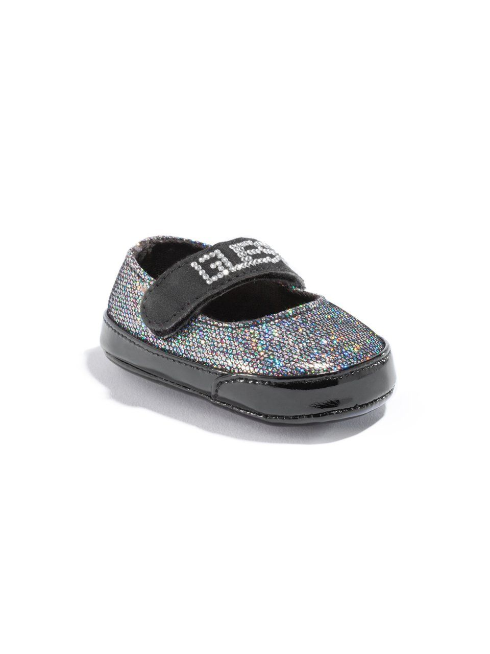 GUESS Kids Girls Baby Jennie-Lee Mary Janes – Black Multi, BLACK (0)
