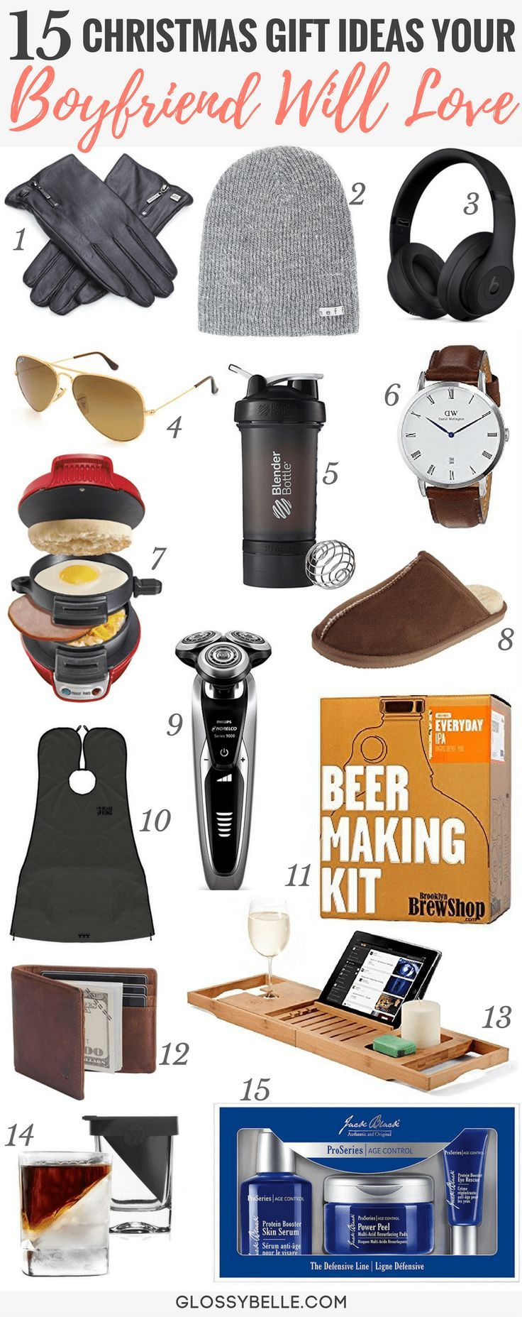 Holiday Gift Guide 2018: 15 Christmas Gift Ideas Your Boyfriend Will ...