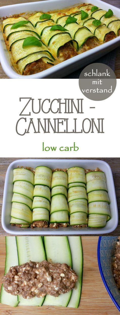 zucchini cannelloni low carb namnam pinterest essen low carb rezepte und essen und trinken. Black Bedroom Furniture Sets. Home Design Ideas