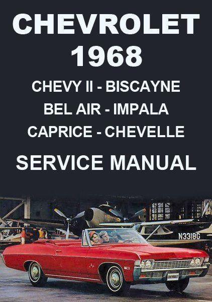 chevrolet impala bel air biscayne caprice chevelle chevy ii el rh pinterest com 1994 chevrolet caprice service manual 1994 chevrolet caprice service manual