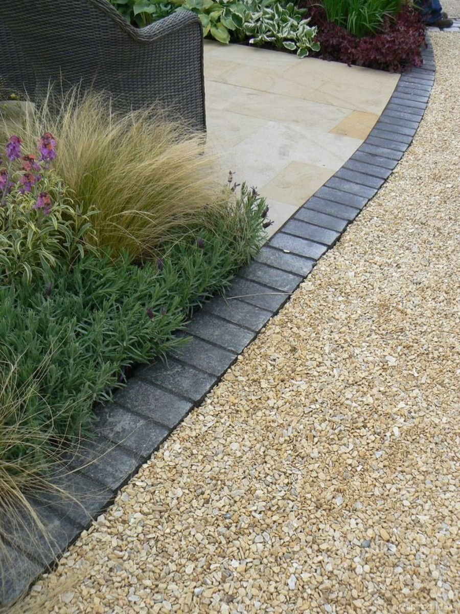 04 Beautiful Gravel Patio Design Ideas Driveway Landscaping
