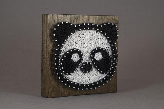 Работа прикольные, стринг арт шаблоны панда