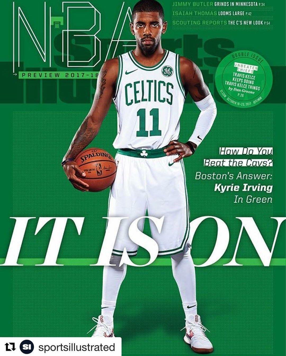 Kyrie Irving magazine