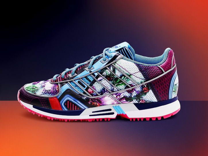 J.Crew Says No to Workout Clothes, Mary Katrantzou x Adidas is BEAUTIFUL.  CollaborationKicksAdidas SneakersAdidas ...