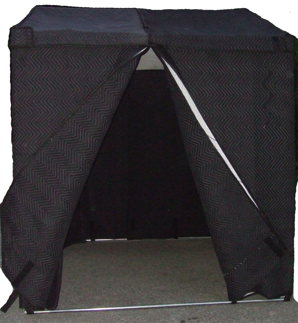 Mobile vocal booth voice over and sound booth solutions