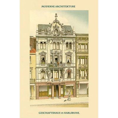 Buyenlarge 'Business in Karlsruhe' by Frei Graphic Art | Wayfair
