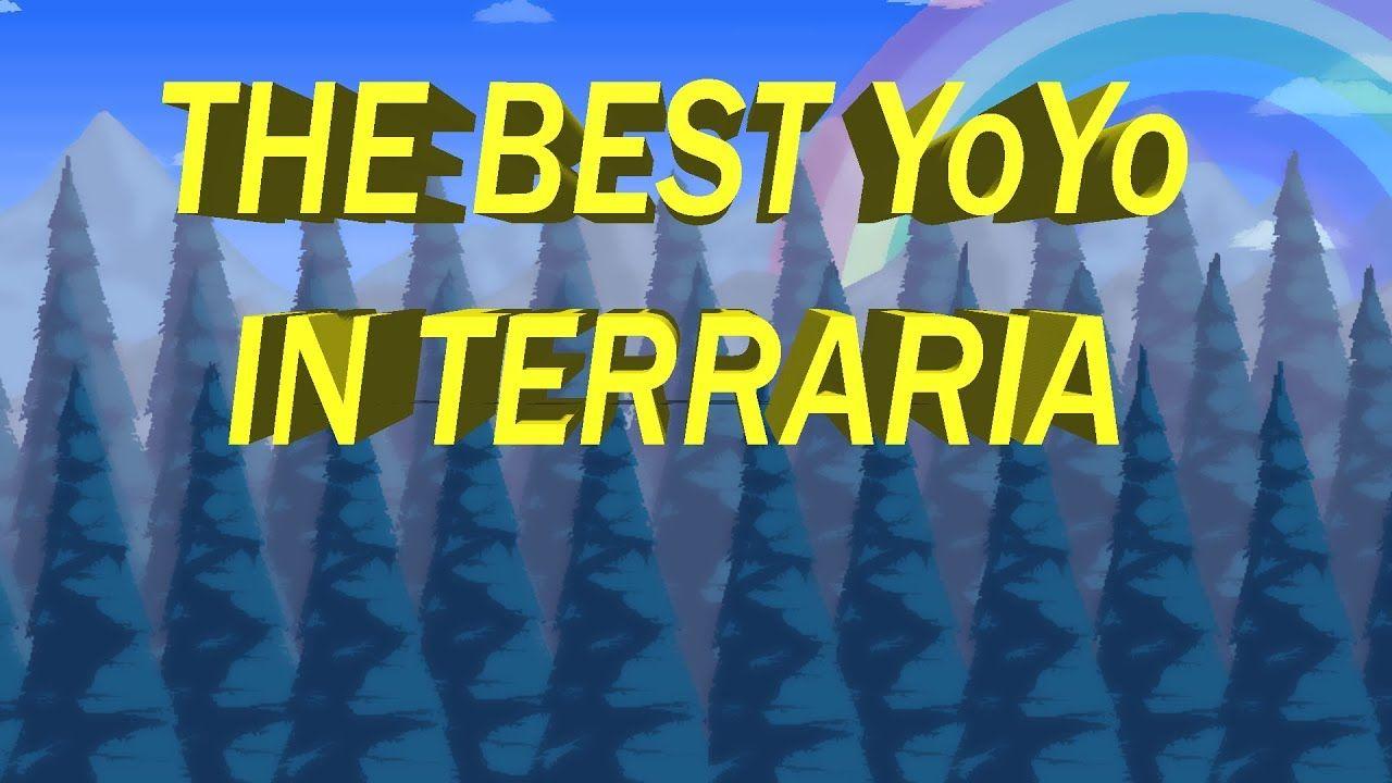 Terraria 1.3 The Best YoYo in Terraria Terrarium