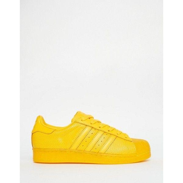 adidas Originals Superstar Super Colour Sneaker in Gelb ($70 ...