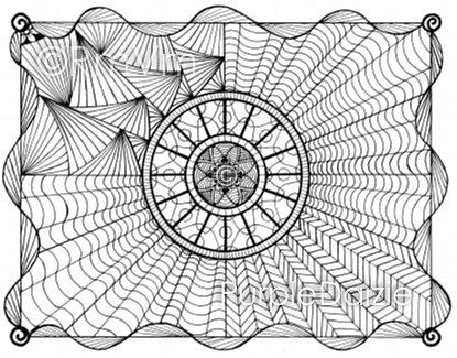 printable adult color pages mini book 3 complex progression zendoodle - Complex Coloring Pages
