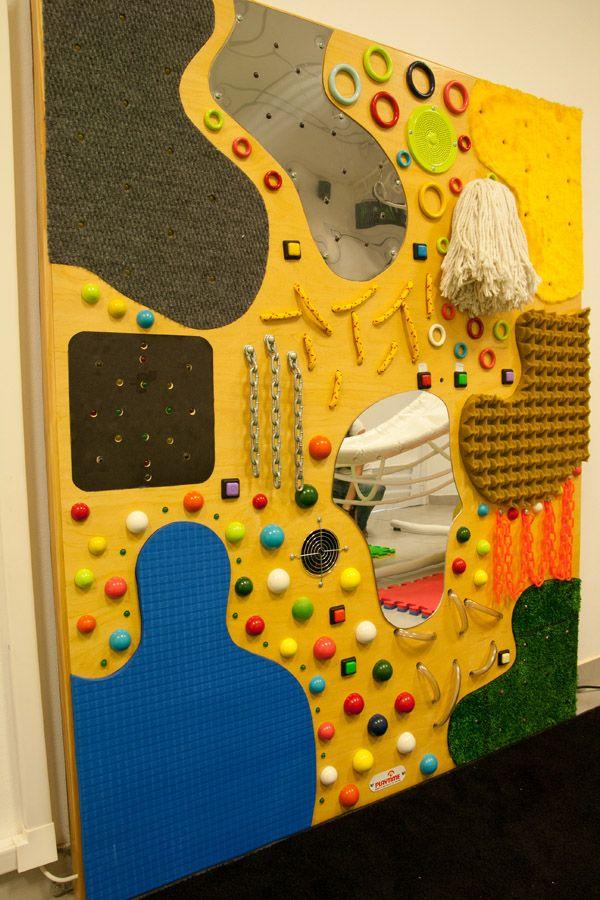 Relaxing Classroom Decor ~ Pared de texturas sensorial pinterest sensory boards