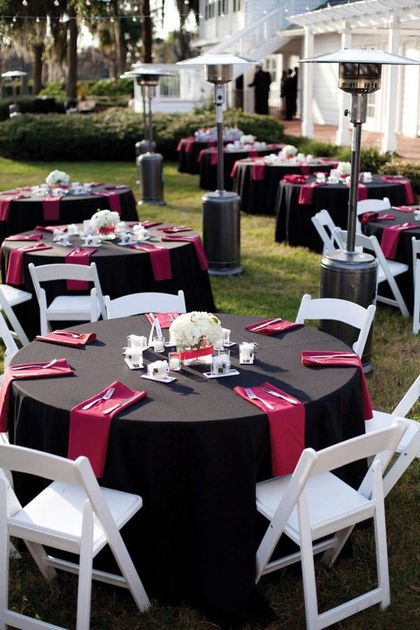 Powerful Red And Black Wedding Dcor Ideas Wedding Decor Pinterest