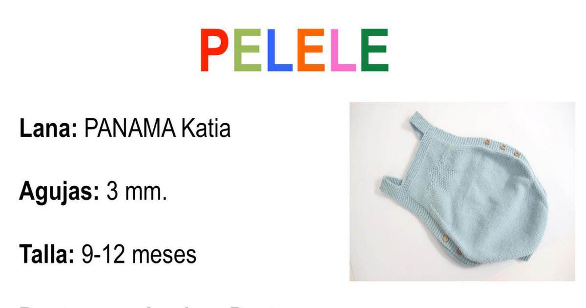 patron completo pelele (1).pdf   Prendas de punto de bebés ...