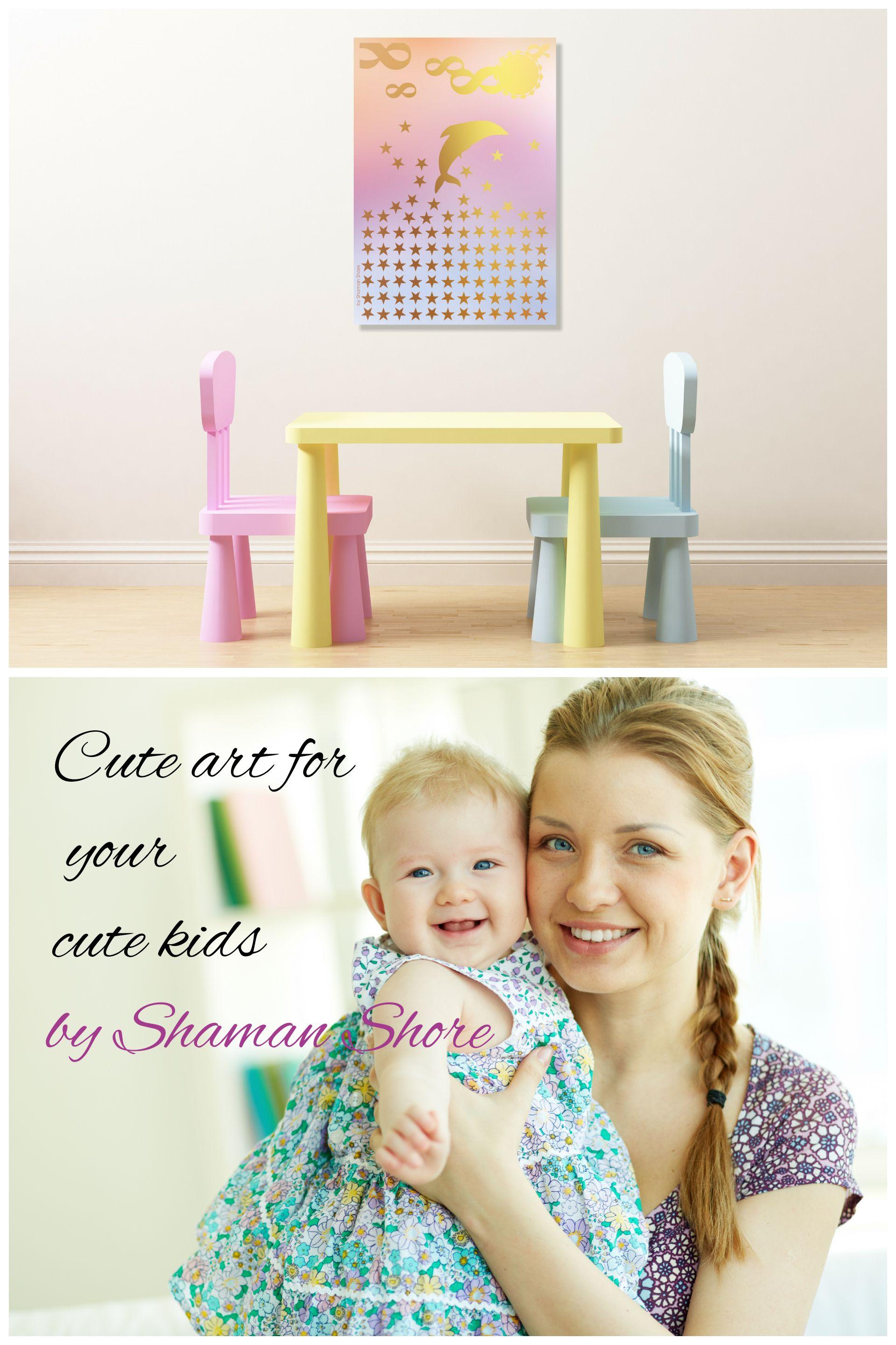 Nursery décor girl pink gold wall print nursery art girl printables
