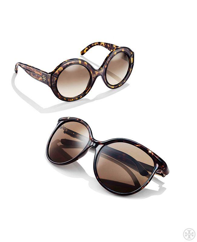 Tortoise sunglasses: never not classic | Tory Burch Spring 2014