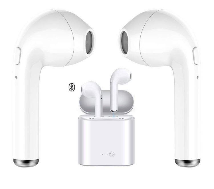 Wireless Headset Bluetooth Headset Earphones Sport Headphones With Charging Box For Iphone X 8 7 6 6s An Bluetooth Headset Sports Headphones Wireless Headset