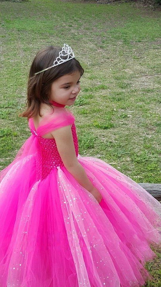 1 10Y Princesa Brillante Cabritos Del Vestido de la Muchacha de Flor ...