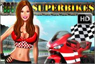 Play #Superbikes video slot machine game to experience the excitement that is associated with #motor racing.  If you are a fan of the #sport, you will #love the sound of roaring engine, audience cheering and the moment when the bike crosses the finishing line.