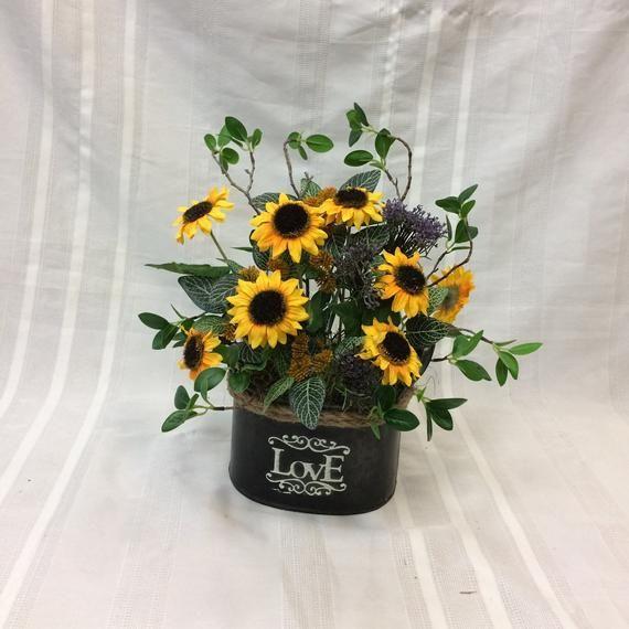Artificial Flower Arrangements Flowers Fl Black Eyed Susan Purple