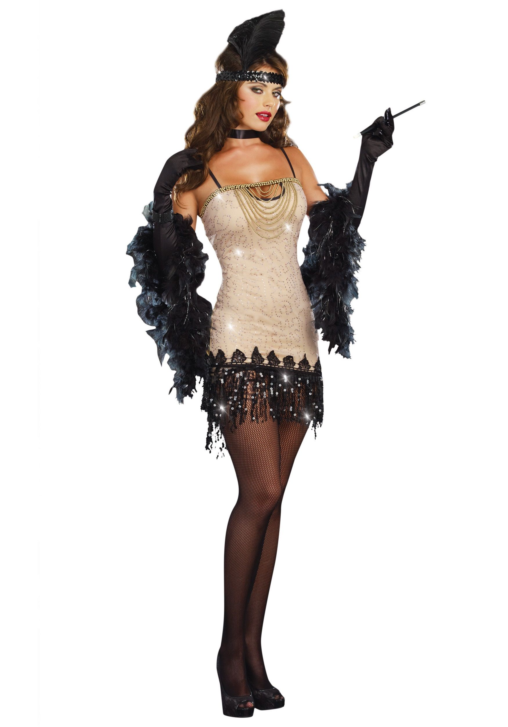 RL8812XX Morris Costumes Women/'s 1920S Dames Like Adult Costume Black Red 1X-2X