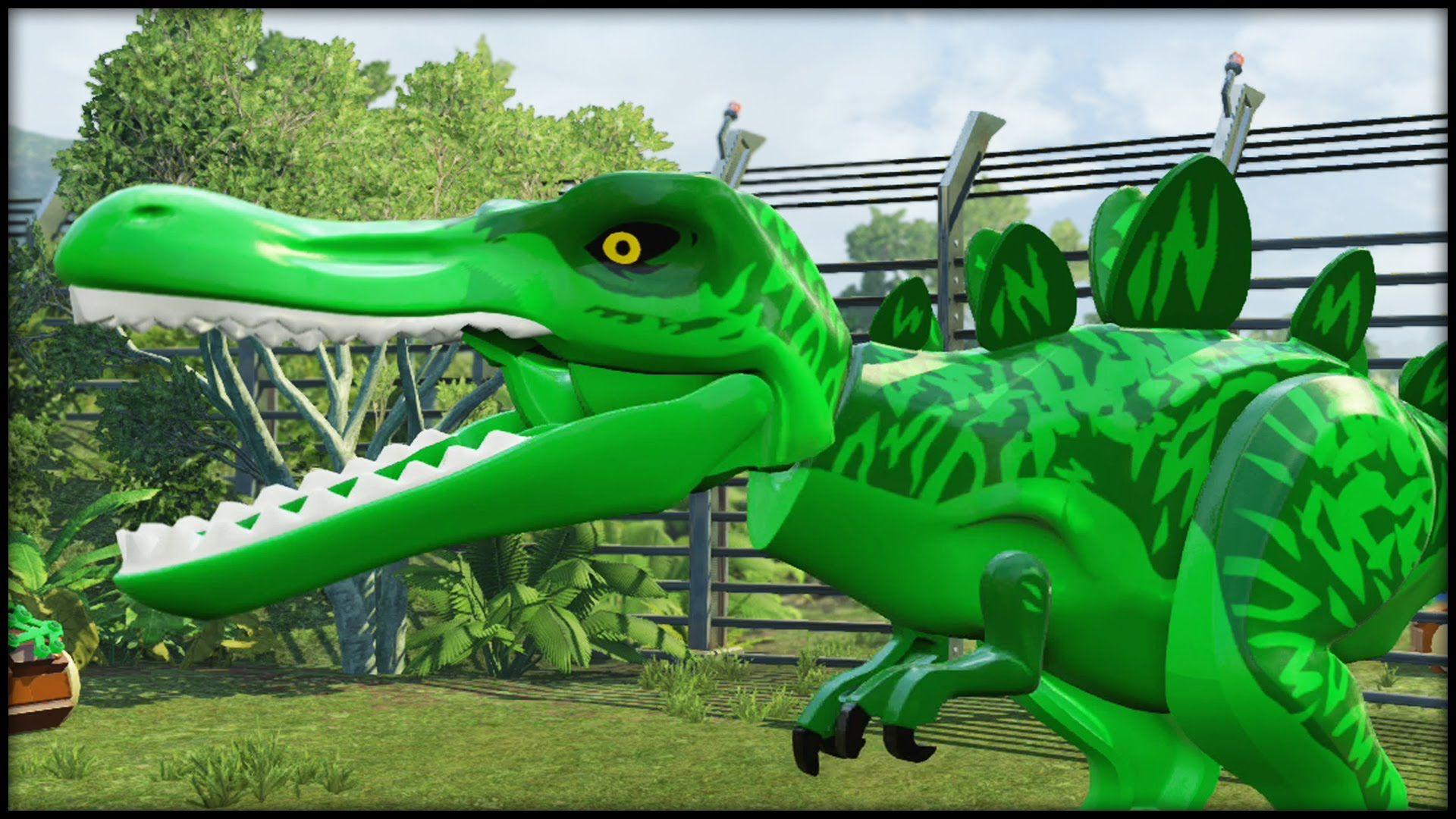 Lego Jurassic World Beast Boy T Rex Jurassic Park And World