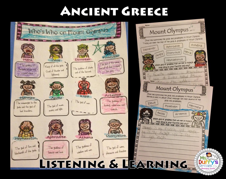 Ancient Greece Second Grade